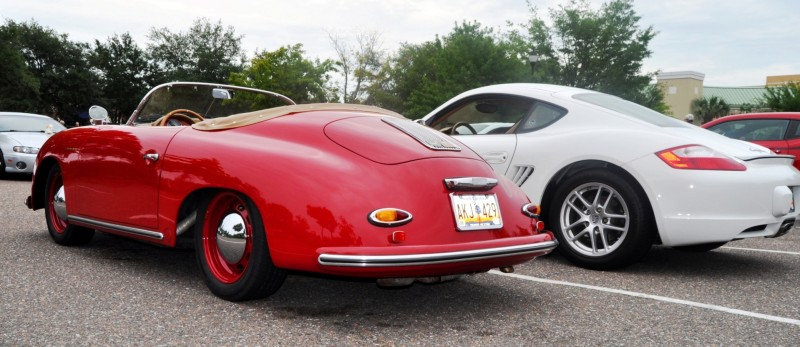 Charleston Cars and Coffee - 1955 Porsche 356 1500S Speedster 5