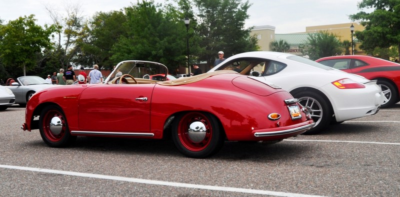 Charleston Cars and Coffee - 1955 Porsche 356 1500S Speedster 6