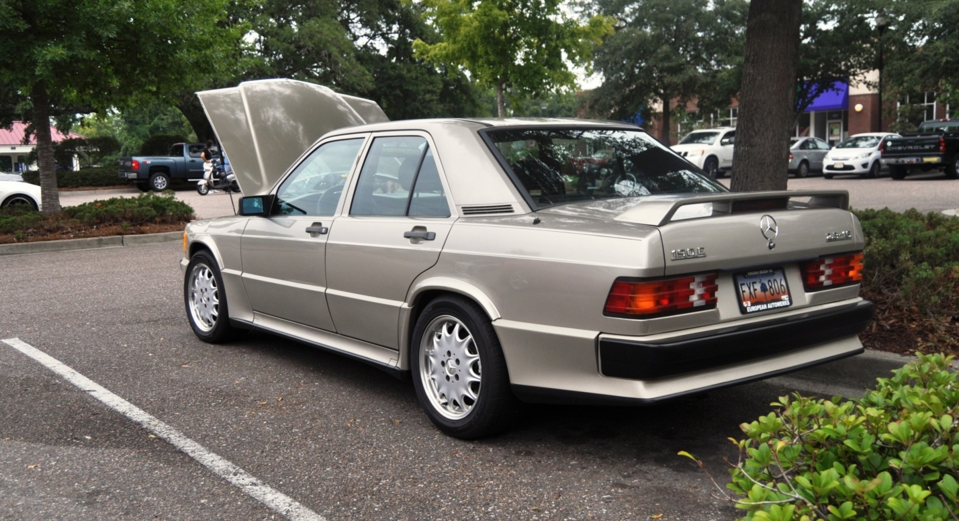 Charleston cars and coffee gallery 1989 mercedes benz for Mercedes benz 190e cosworth