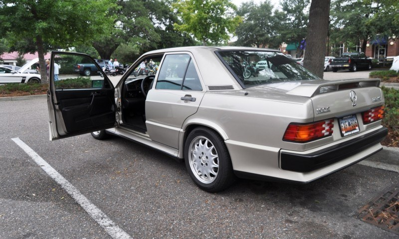 Charleston Cars and Coffee Gallery - 1989 Mercedes-Benz 190E 2.3-16 Cosworth is For Sale 20