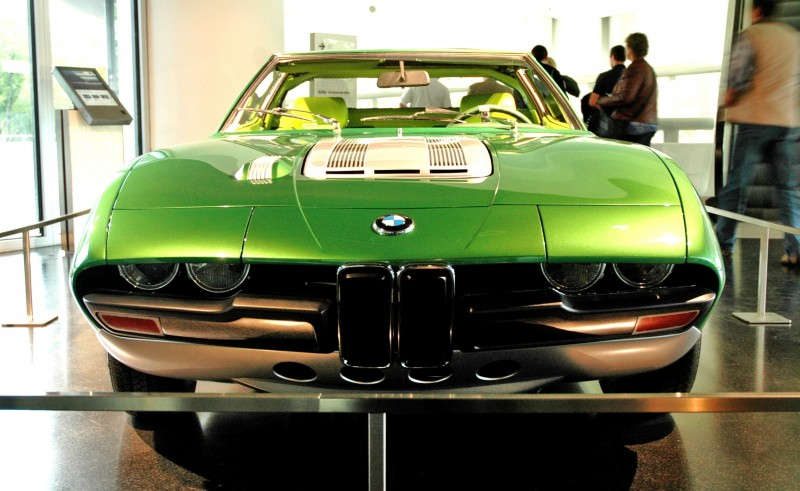 Concept Debrief - 1969 BMW 2800 Spicup Was Bertone Spider-Coupe Prototype 1