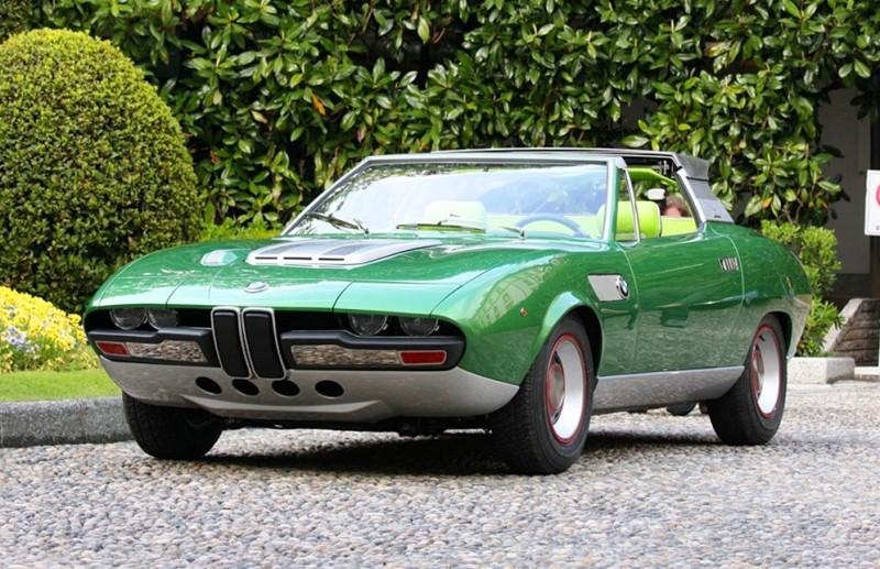 Concept Debrief - 1969 BMW 2800 Spicup Was Bertone Spider-Coupe Prototype 12