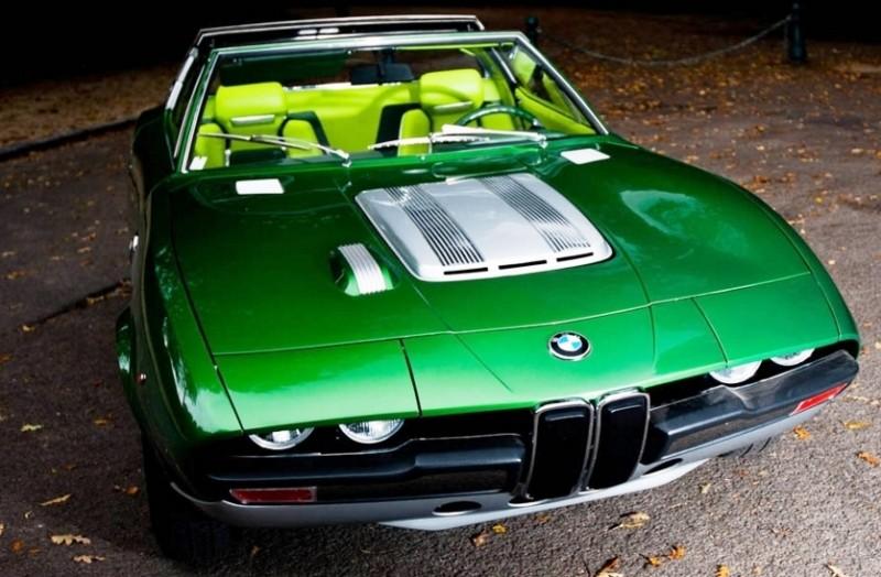 Concept Debrief - 1969 BMW 2800 Spicup Was Bertone Spider-Coupe Prototype 13