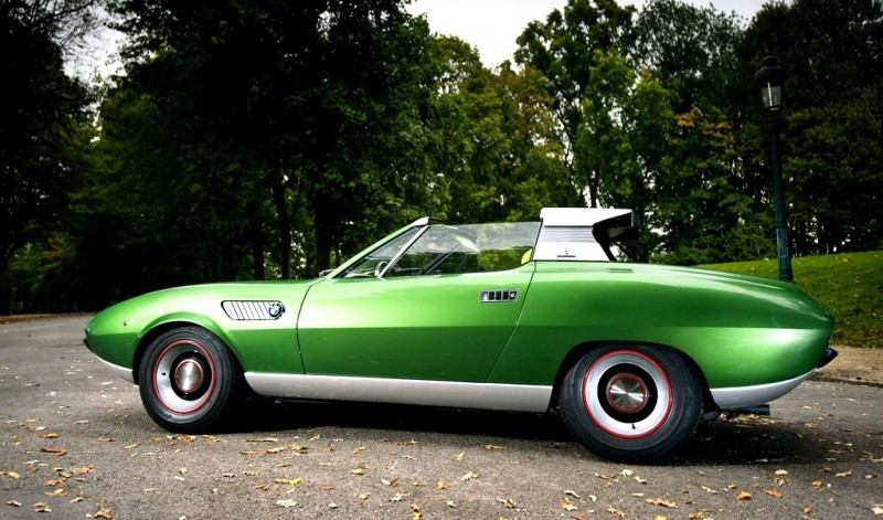 Concept Debrief - 1969 BMW 2800 Spicup Was Bertone Spider-Coupe Prototype 14