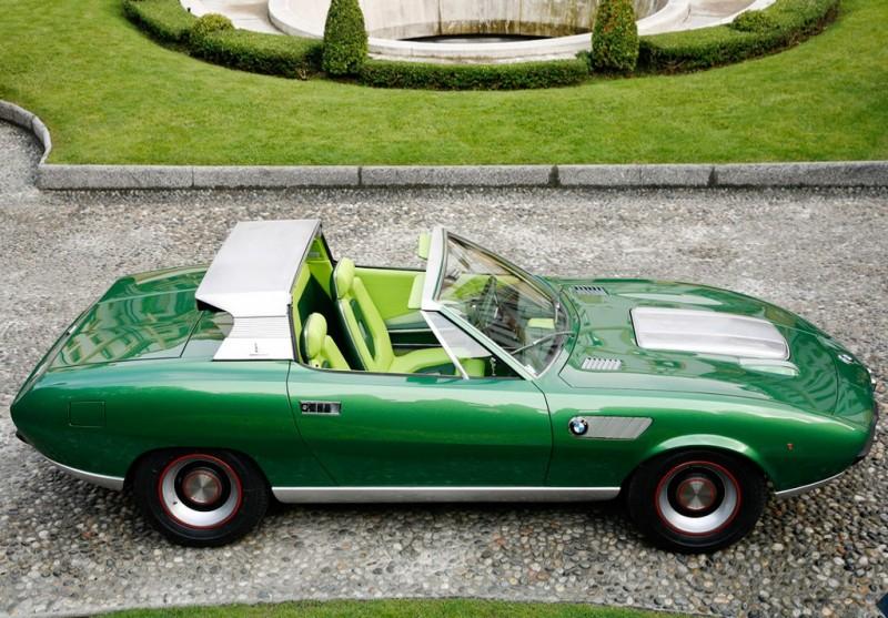 Concept Debrief - 1969 BMW 2800 Spicup Was Bertone Spider-Coupe Prototype 15