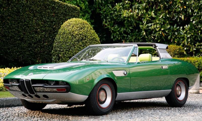 Concept Debrief - 1969 BMW 2800 Spicup Was Bertone Spider-Coupe Prototype 16