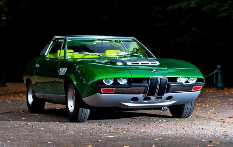 Concept Debrief - 1969 BMW 2800 Spicup Was Bertone Spider-Coupe Prototype 19
