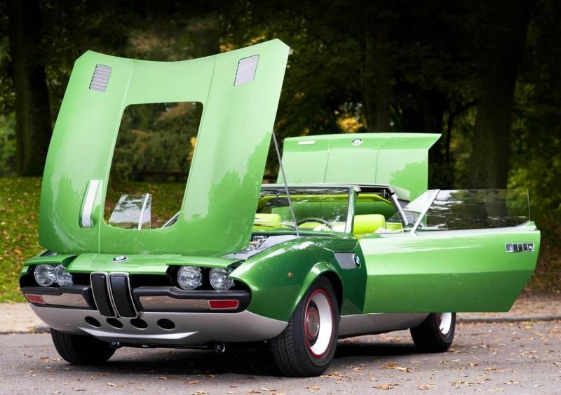Concept Debrief - 1969 BMW 2800 Spicup Was Bertone Spider-Coupe Prototype 21