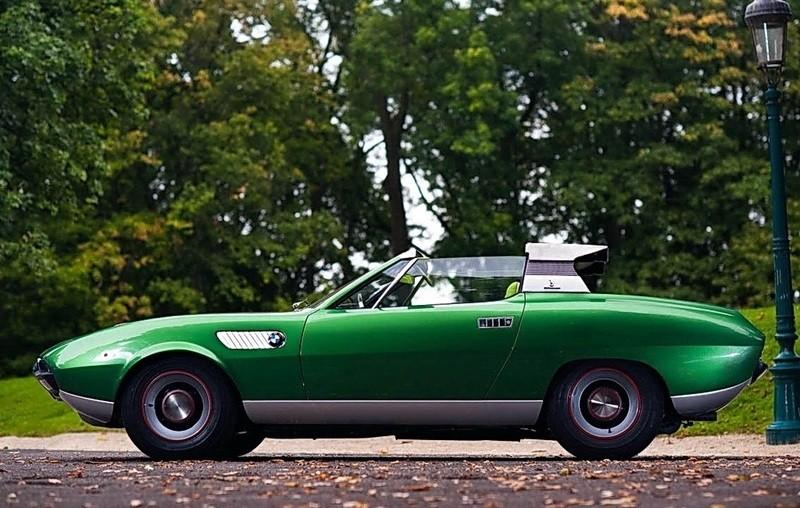 Concept Debrief - 1969 BMW 2800 Spicup Was Bertone Spider-Coupe Prototype 22