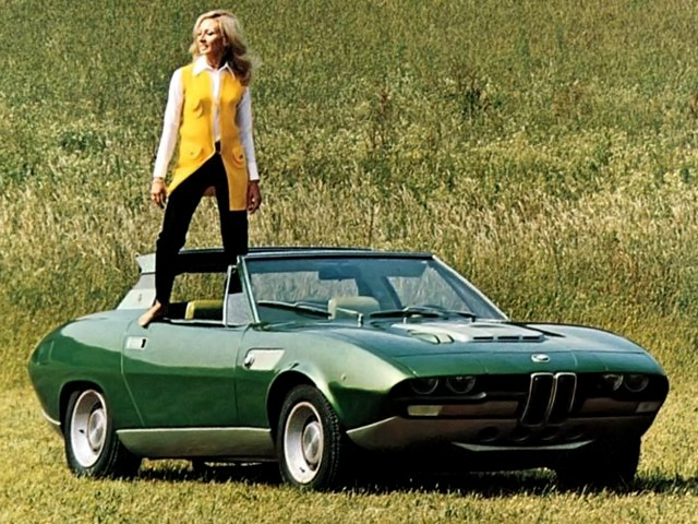 Concept Debrief - 1969 BMW 2800 Spicup Was Bertone Spider-Coupe Prototype 26