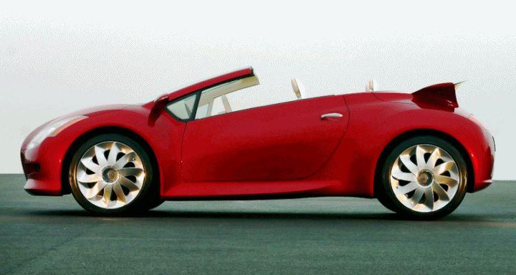 Concept Debrief - 2004 Kia KCV III roof