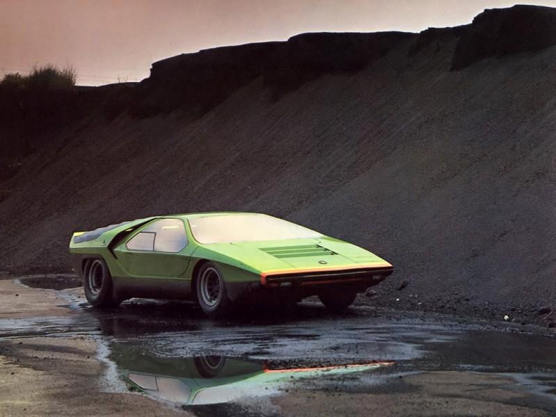 Concept Flashback - 1968 Alfa Romeo Carabo by Bertone 1