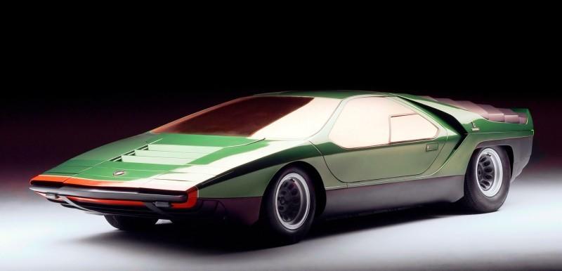 Concept Flashback - 1968 Alfa Romeo Carabo by Bertone 13