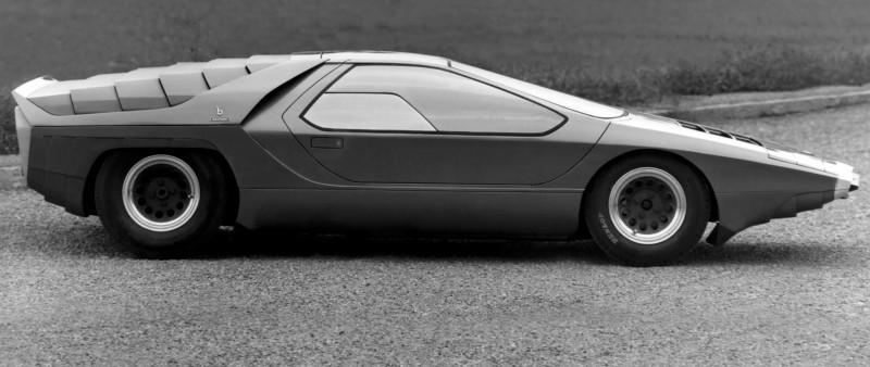 Concept Flashback - 1968 Alfa Romeo Carabo by Bertone 14
