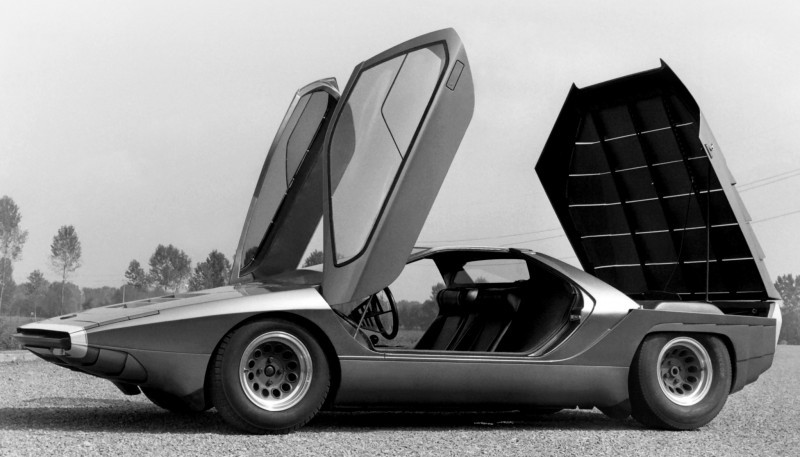 Concept Flashback - 1968 Alfa Romeo Carabo by Bertone 15