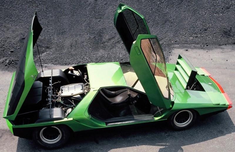 Concept Flashback - 1968 Alfa Romeo Carabo by Bertone 19