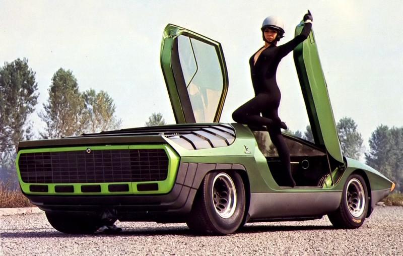 Concept Flashback - 1968 Alfa Romeo Carabo by Bertone 2