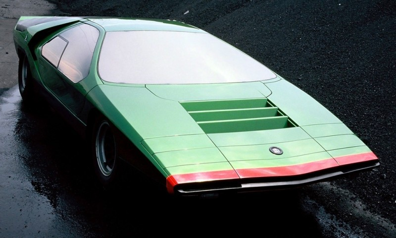 Concept Flashback - 1968 Alfa Romeo Carabo by Bertone 22