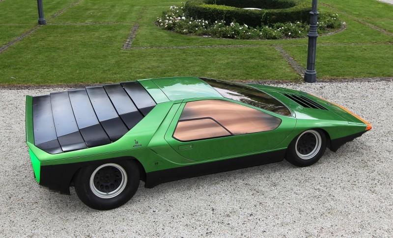 Concept Flashback - 1968 Alfa Romeo Carabo by Bertone 23