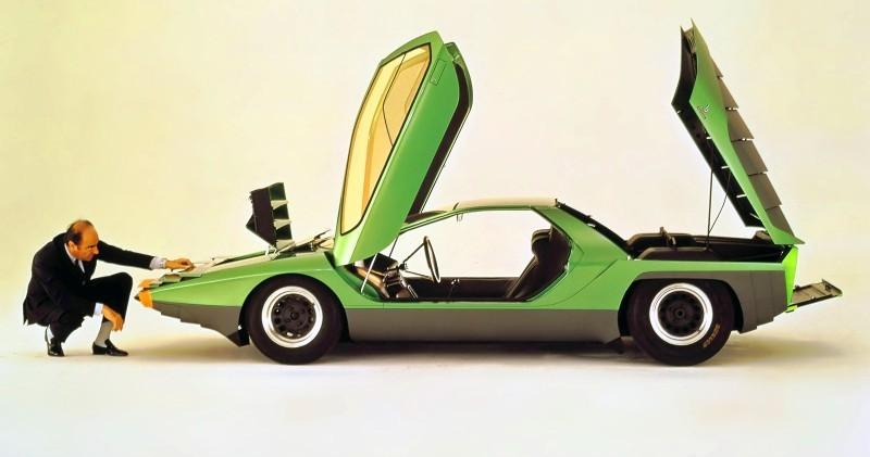 Concept Flashback - 1968 Alfa Romeo Carabo by Bertone 26