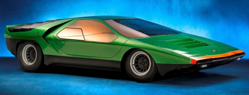 Concept Flashback - 1968 Alfa Romeo Carabo by Bertone 31