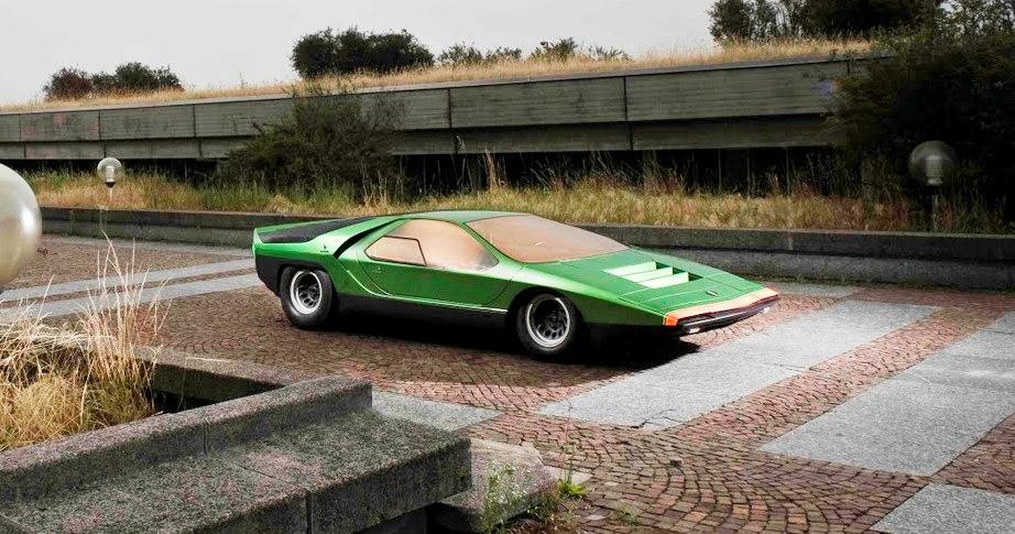 concept flashback 1968 alfa romeo carabo by bertone 32