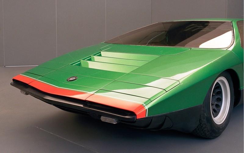 Concept Flashback - 1968 Alfa Romeo Carabo by Bertone 33