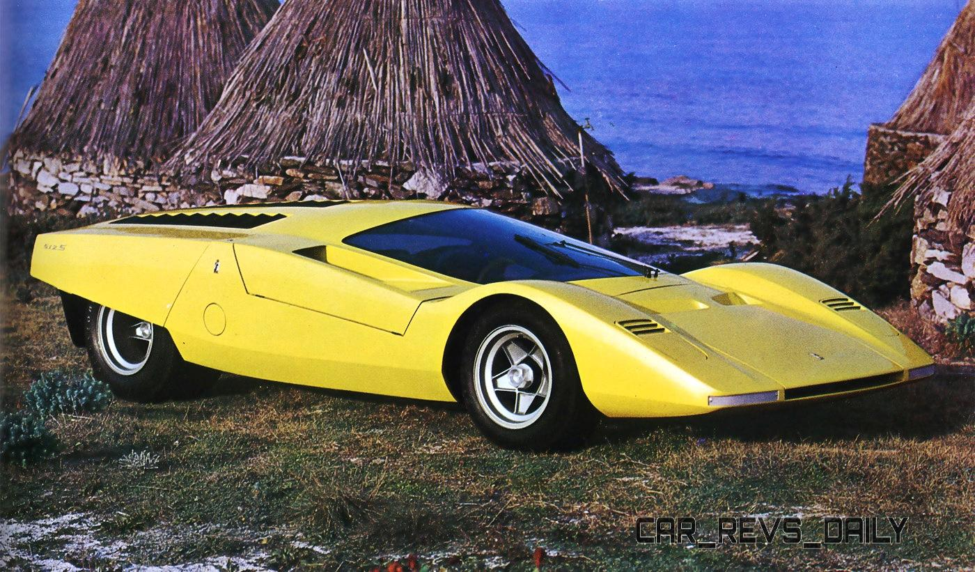 Concept Flashback - 1969 Ferrari 512 S Coupe Speciale by Pininfarina in Leopard Onesite at Granite Mine 1