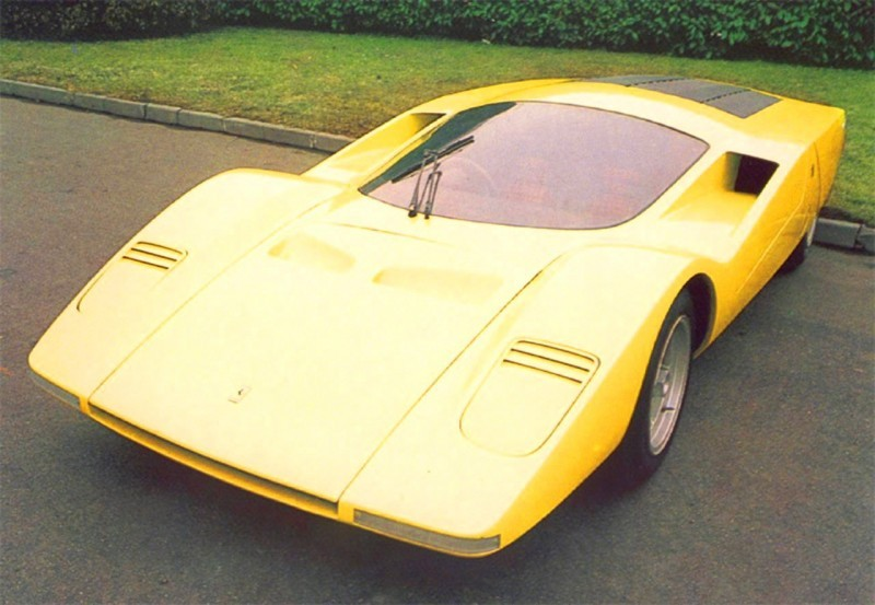 Concept Flashback - 1969 Ferrari 512 S Coupe Speciale by Pininfarina in Leopard Onesite at Granite Mine 16