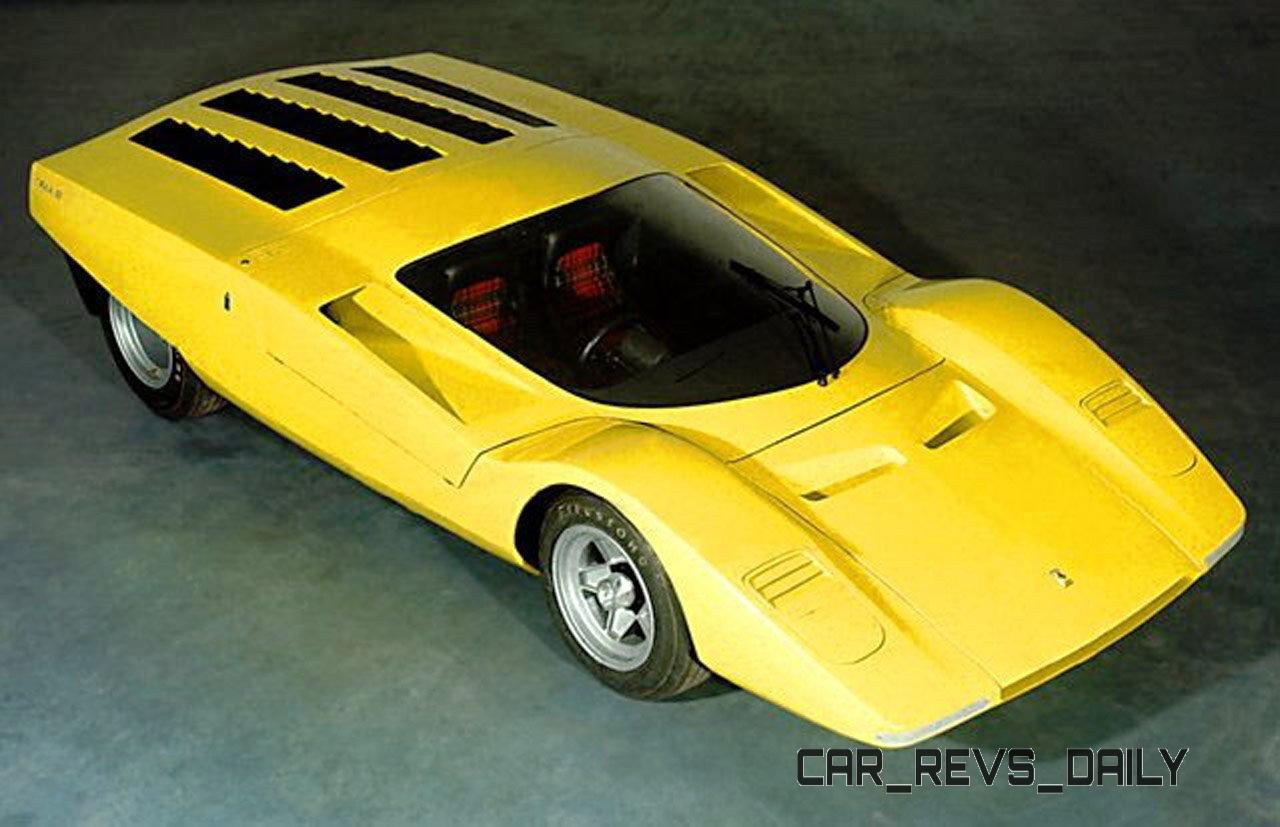 Concept Flashback - 1969 Ferrari 512 S Coupe Speciale by Pininfarina in Leopard Onesite at Granite Mine 2