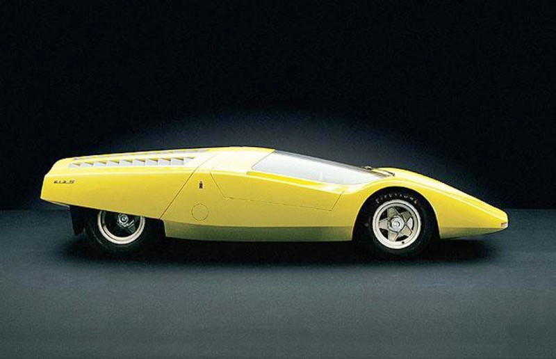 Concept Flashback - 1969 Ferrari 512 S Coupe Speciale by Pininfarina in Leopard Onesite at Granite Mine 3