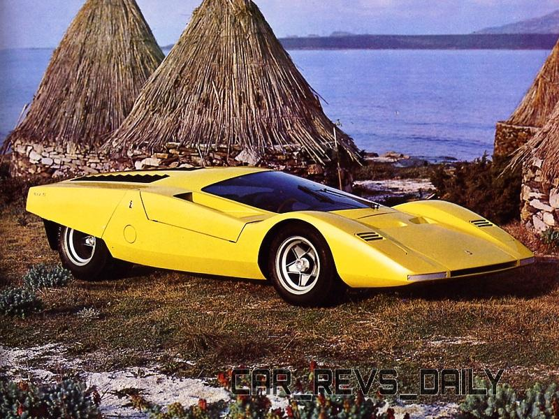 Concept Flashback - 1969 Ferrari 512 S Coupe Speciale by Pininfarina in Leopard Onesite at Granite Mine 8