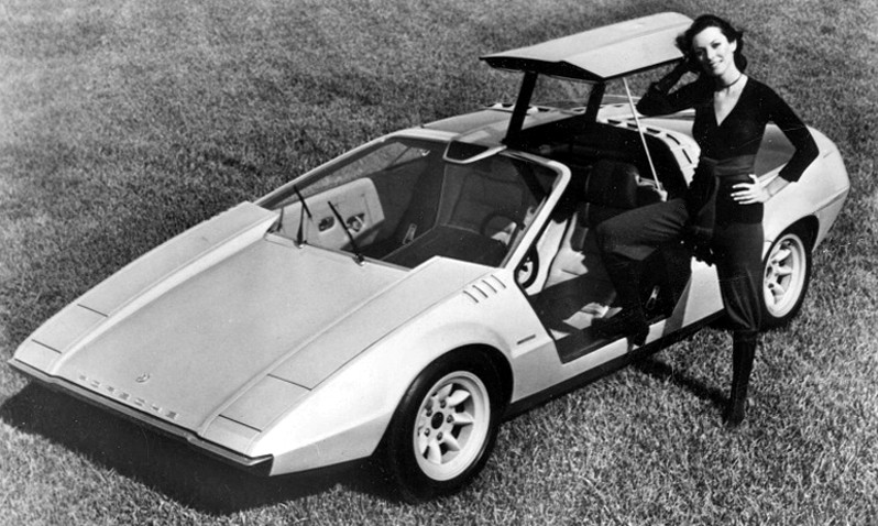 Concept Flashback - 1970 Volkswagen Porsche Tapiro by ItalDesign 11