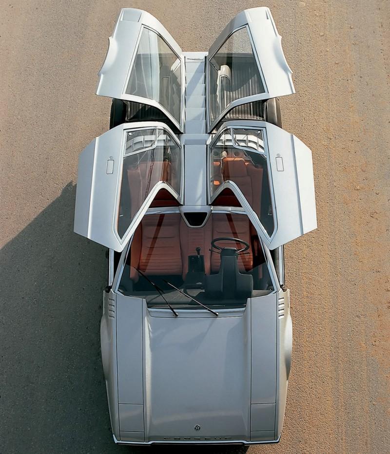 Concept Flashback - 1970 Volkswagen Porsche Tapiro by ItalDesign 13