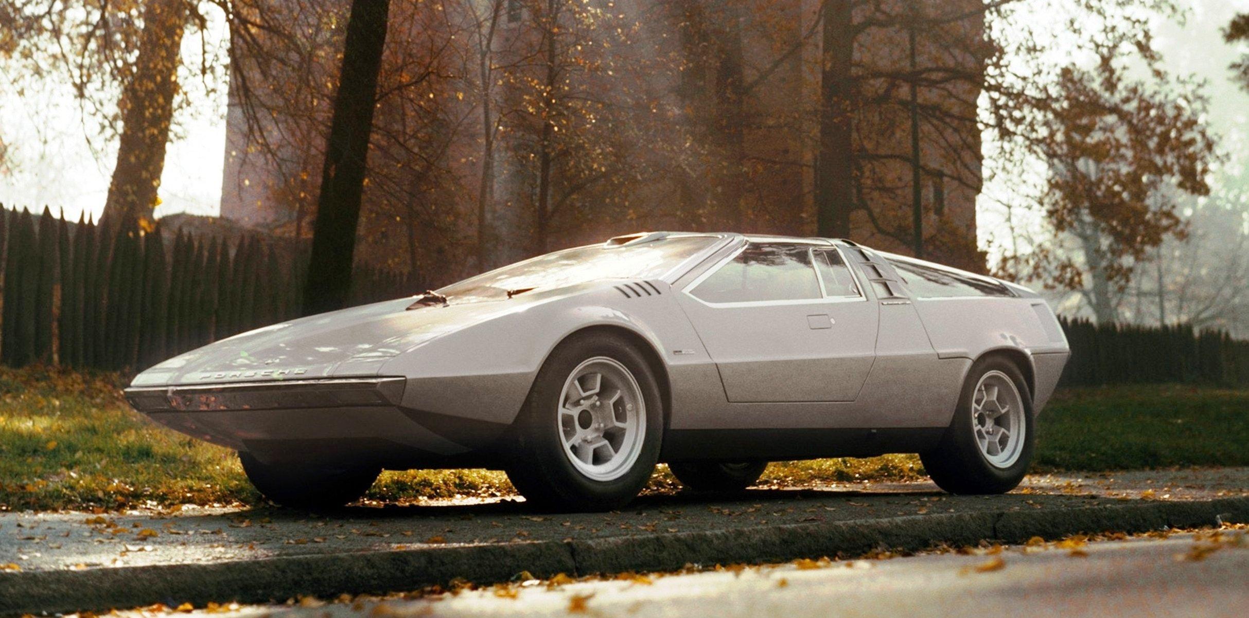 Concept Flashback 1970 Volkswagen Porsche Tapiro By