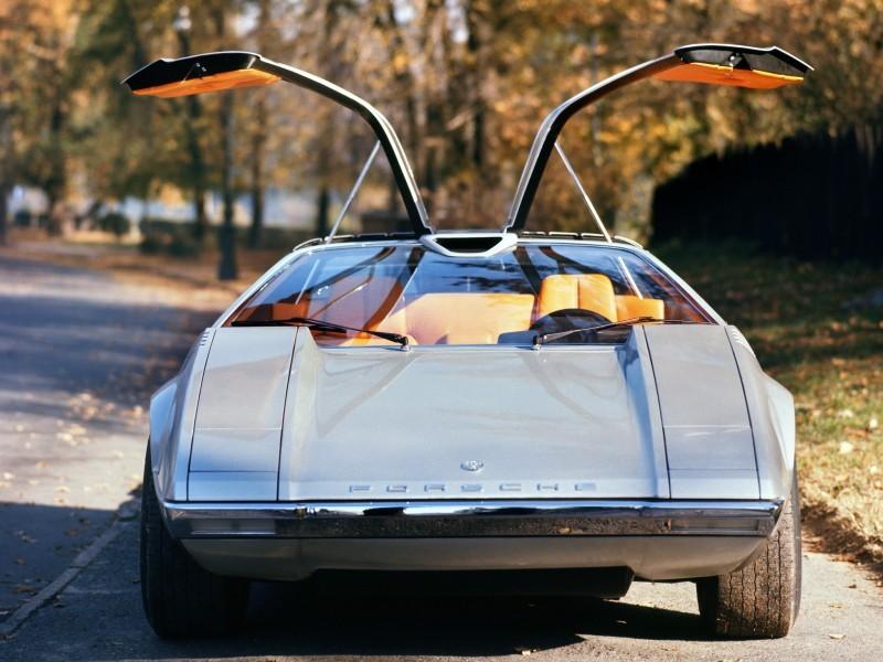 Concept Flashback - 1970 Volkswagen Porsche Tapiro by ItalDesign 6