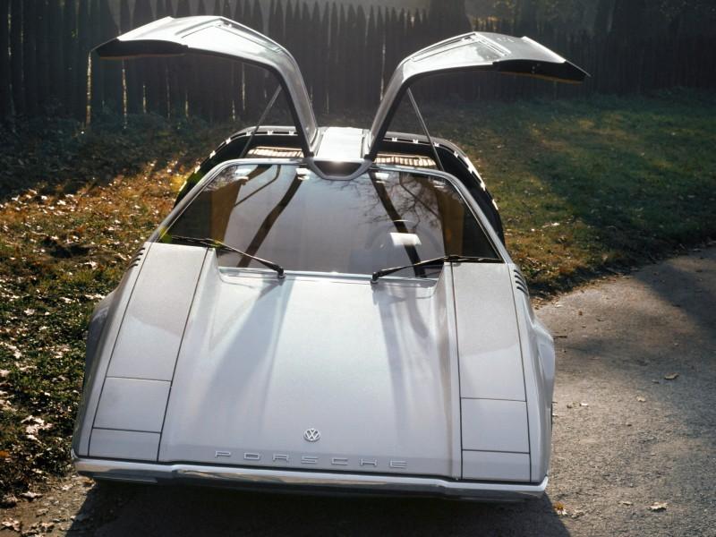 Concept Flashback - 1970 Volkswagen Porsche Tapiro by ItalDesign 7