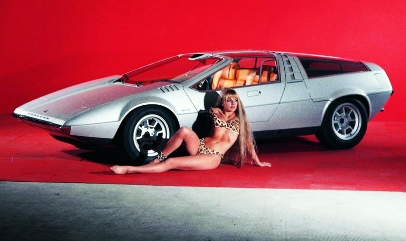 Concept Flashback - 1970 Volkswagen Porsche Tapiro by ItalDesign 8