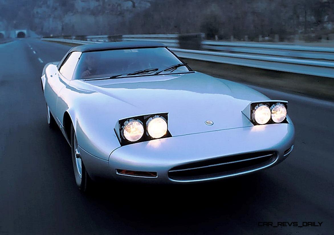 concept flashback 1978 jaguar xj spider by pininfarina