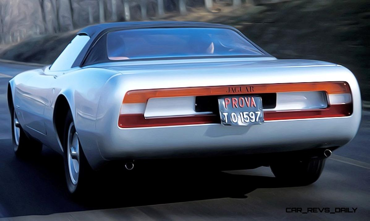 Concept Flashback - 1978 JAGUAR XJ Spider by Pininfarina 14