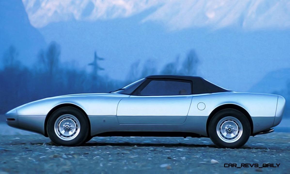 Concept Flashback - 1978 JAGUAR XJ Spider by Pininfarina 4