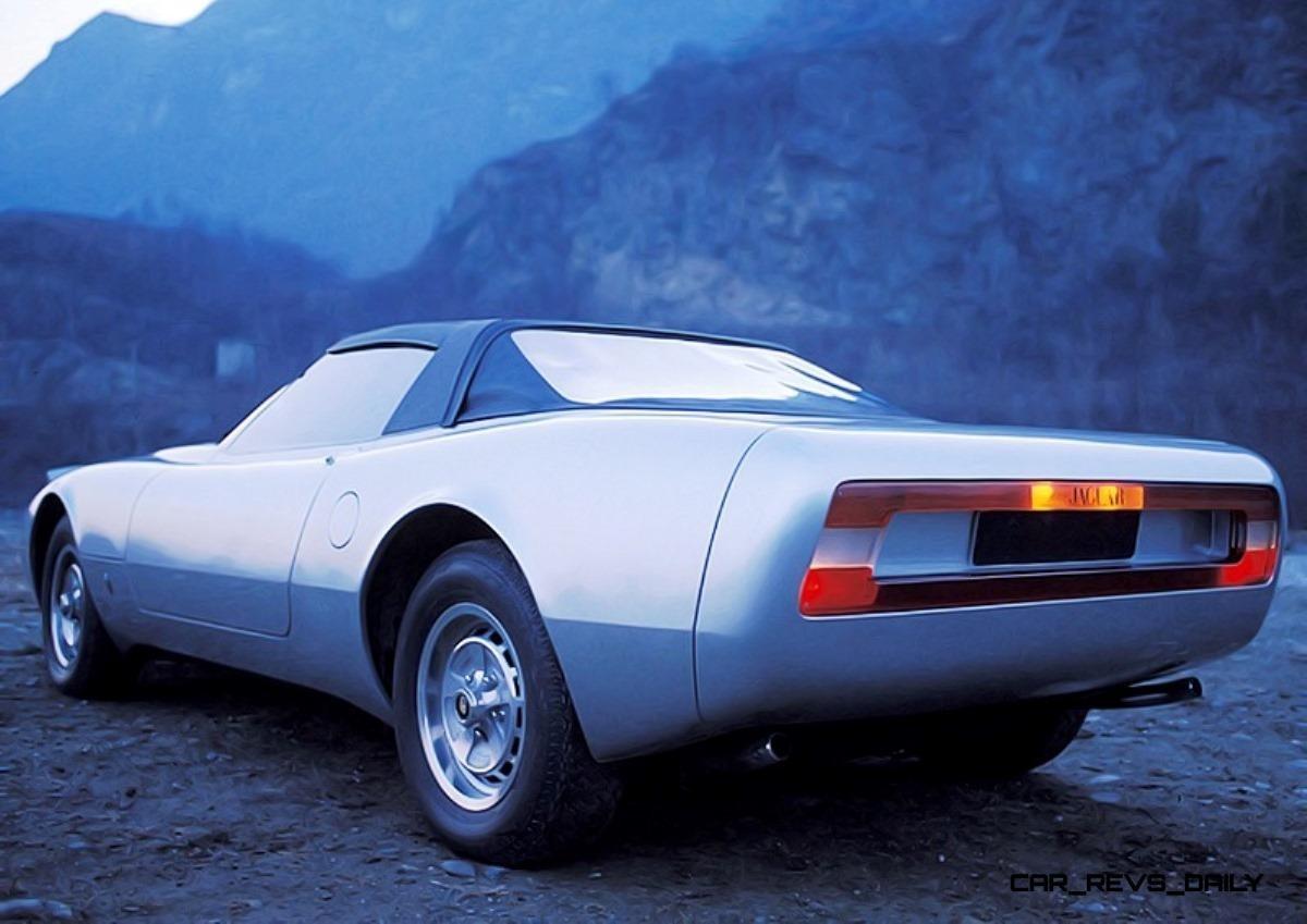 Concept Flashback - 1978 JAGUAR XJ Spider by Pininfarina 6