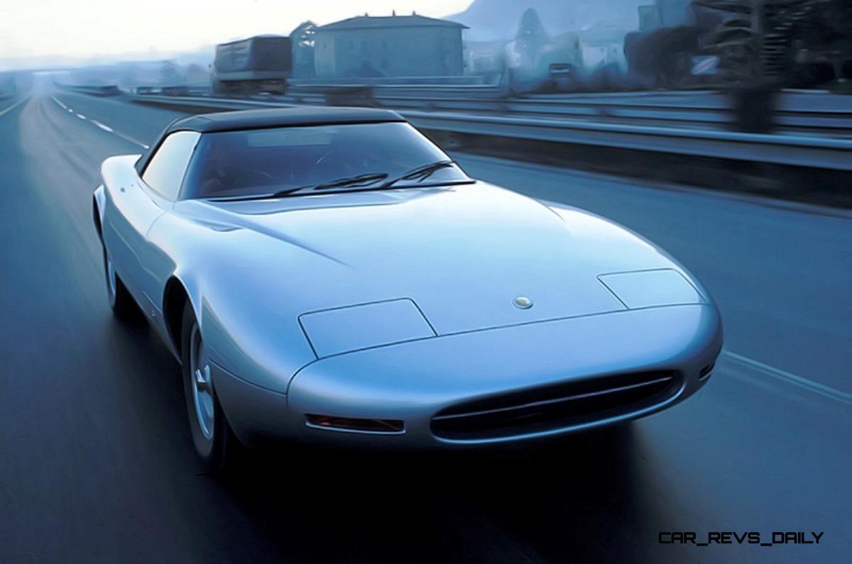 Concept Flashback - 1978 JAGUAR XJ Spider by Pininfarina 9