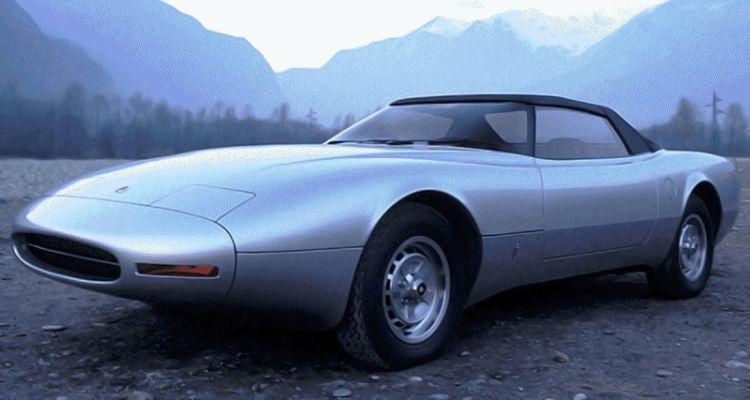 Concept Flashback - 1978 JAGUAR XJ Spider by Pininfarina gif