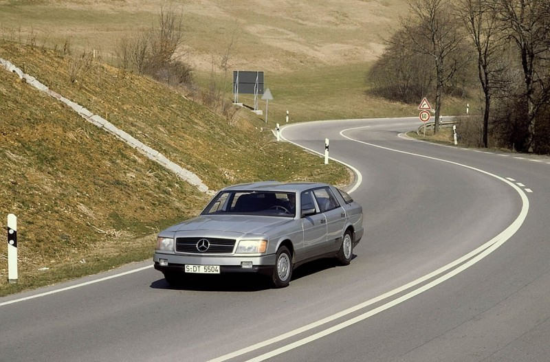 Concept Flashback - 1978 Mercedes-Benz Auto 2000 Concept Is Fastback Aero Limo1