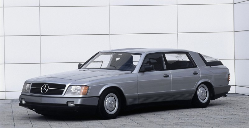 Concept Flashback - 1978 Mercedes-Benz Auto 2000 Concept Is Fastback Aero Limo10