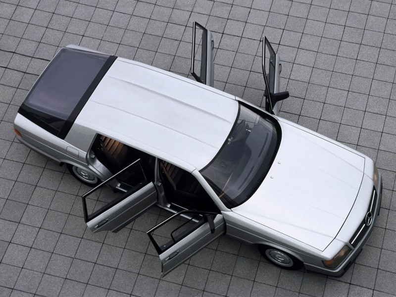 Concept Flashback - 1978 Mercedes-Benz Auto 2000 Concept Is Fastback Aero Limo11
