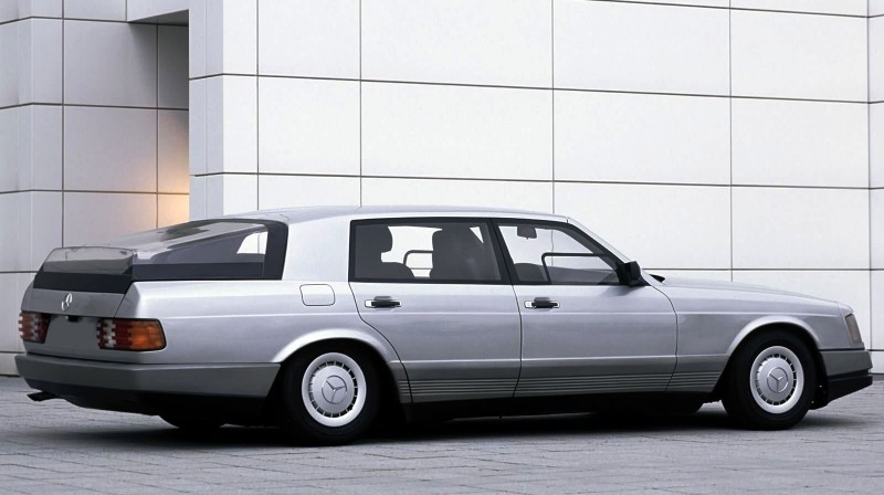 Concept Flashback - 1978 Mercedes-Benz Auto 2000 Concept Is Fastback Aero Limo12