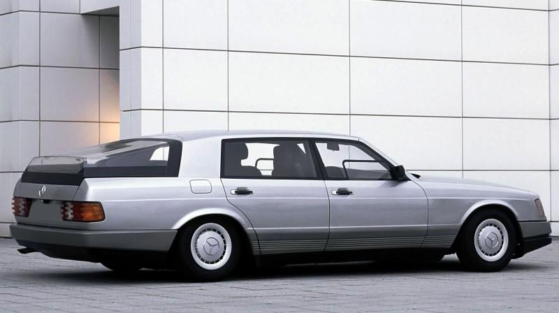 Concept Flashback - 1978 Mercedes-Benz Auto 2000 Concept Is Fastback Aero Limo12