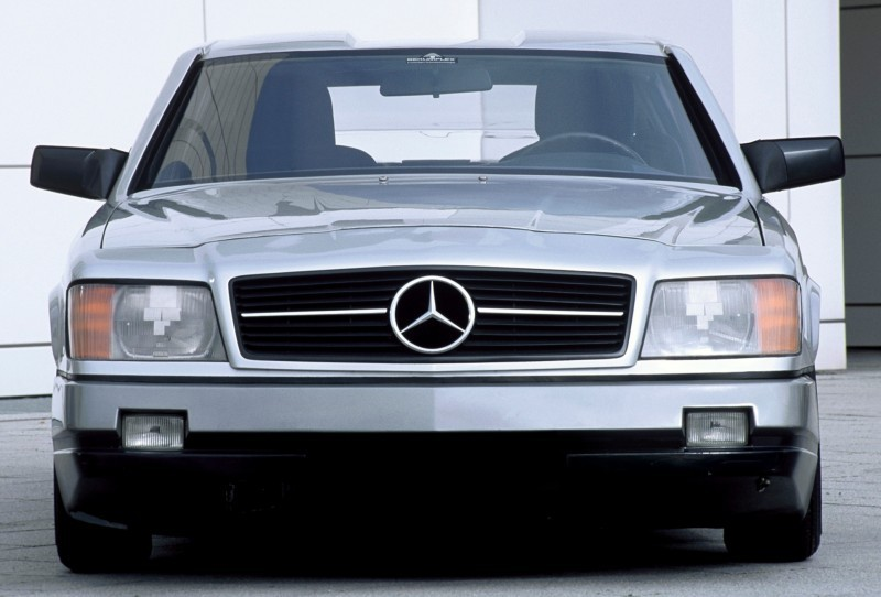 Concept Flashback - 1978 Mercedes-Benz Auto 2000 Concept Is Fastback Aero Limo13